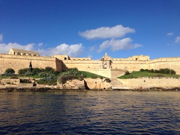 Valletta's fortifications, Malta